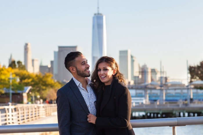 Image 2 of Ketan and Narissa's New York City Proposal