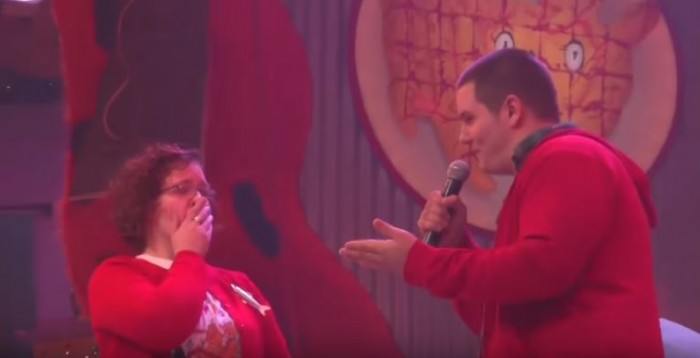 Image 3 of PeeWee Herman Helps Ben (Founder of The Flippist) Propose