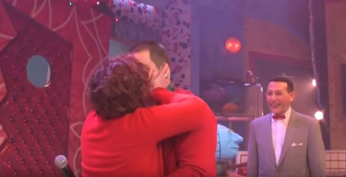Image 4 of PeeWee Herman Helps Ben (Founder of The Flippist) Propose