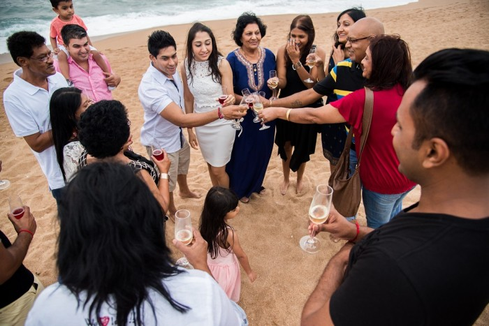 Image 10 of Sue and Shival's Romantic Beach Proposal