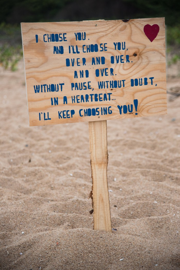 Image 2 of Sue and Shival's Romantic Beach Proposal