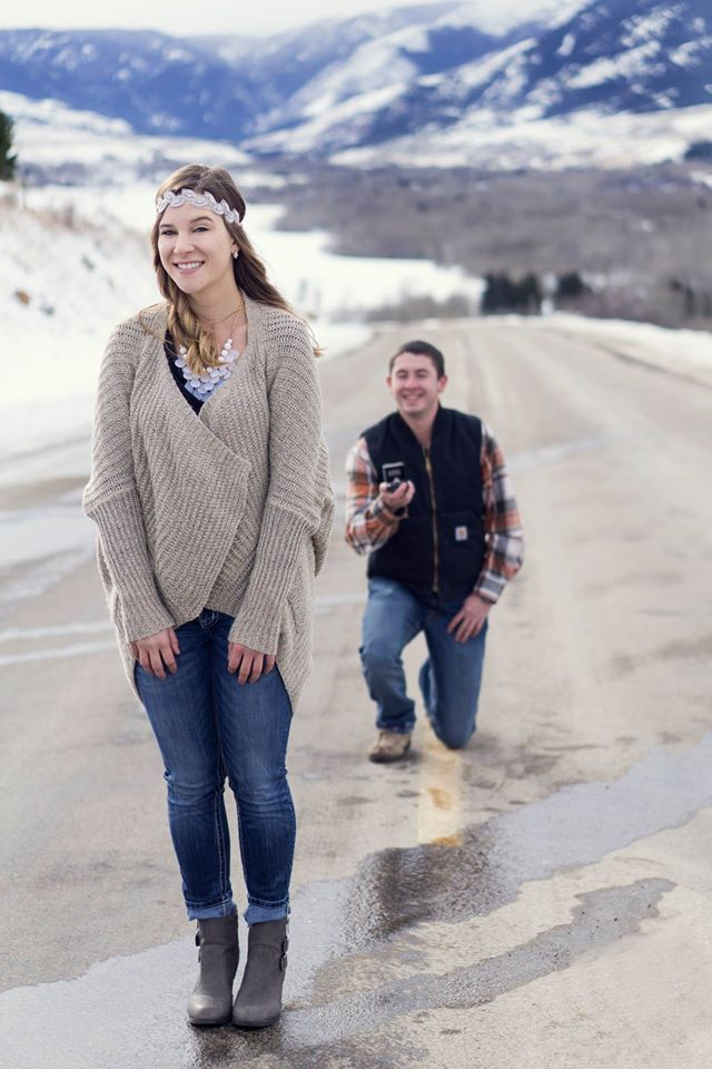 Picture Perfect Marriage Proposal in Montana