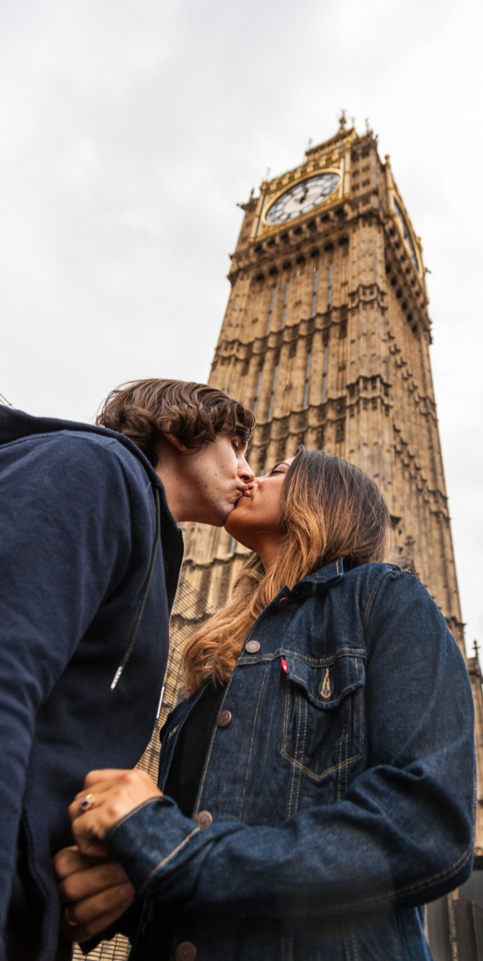 Image 2 of Jessica and Duncan's London-Inspired Proposal (and their adorable Minted wedding details)
