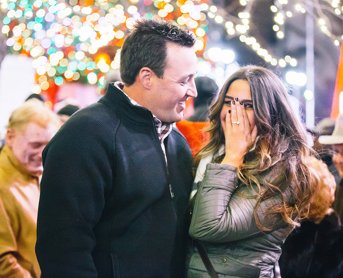 Kristina's Proposal in Detroit