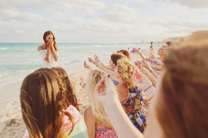 Bachelorette Party in Cancun, Mexico