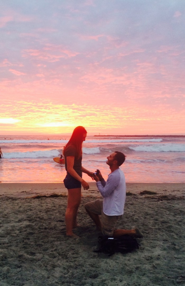 Marriage Proposal Ideas in Ocean Beach, CA