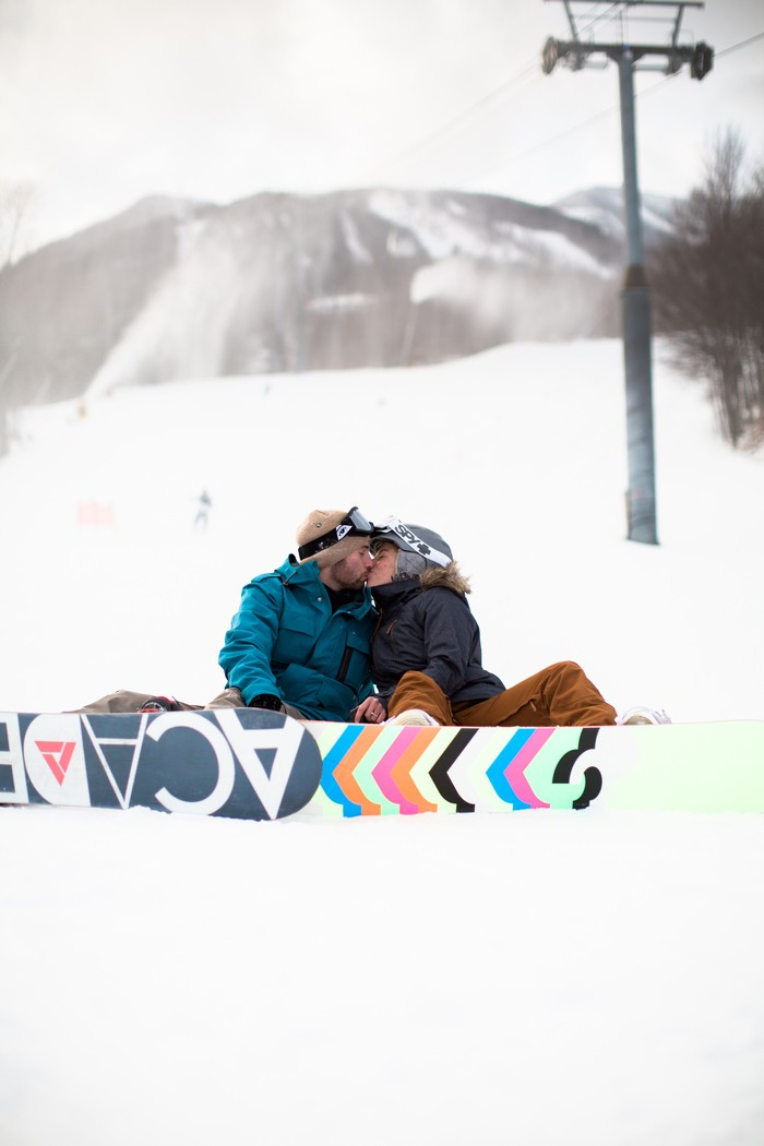 Image 3 of Joelle and Alex's Amazing Proposal on The Slopes