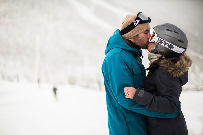Proposal Ideas While Skiing