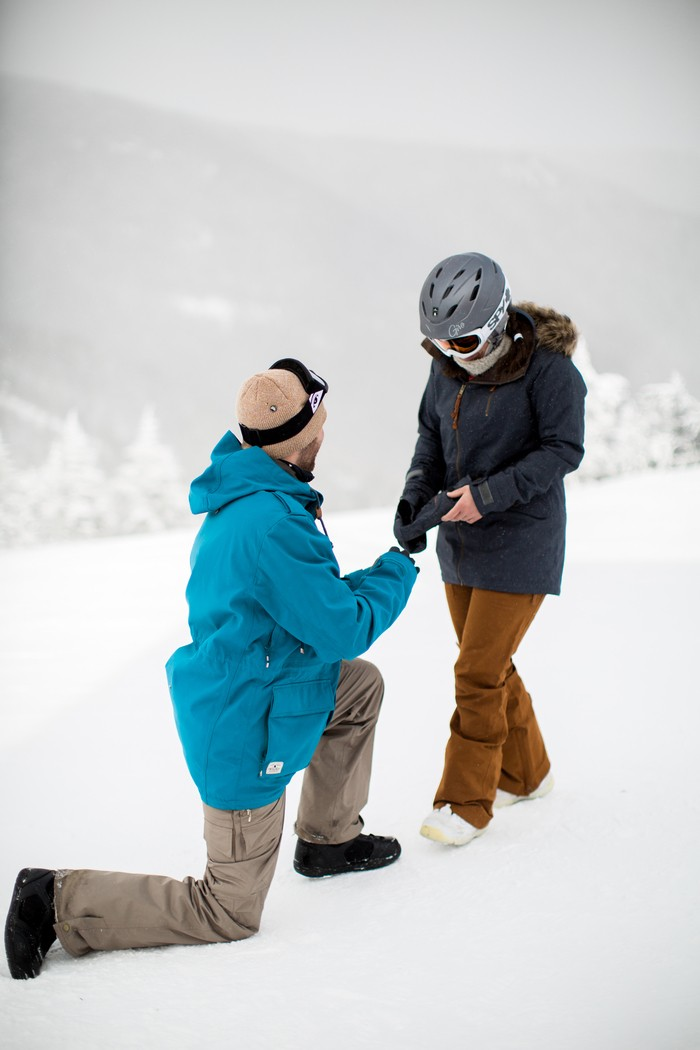 Image 7 of Joelle and Alex's Amazing Proposal on The Slopes