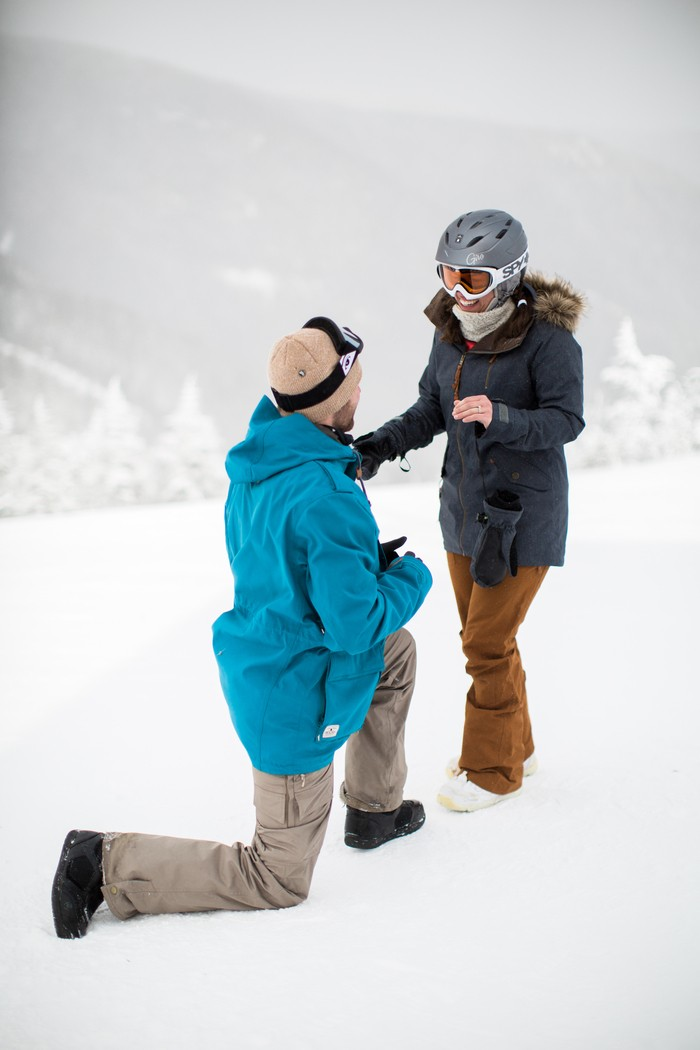 Image 8 of Joelle and Alex's Amazing Proposal on The Slopes