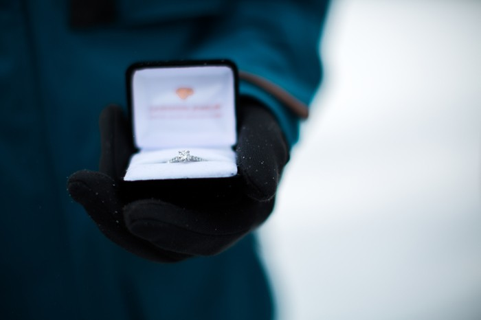 Image 13 of Joelle and Alex's Amazing Proposal on The Slopes