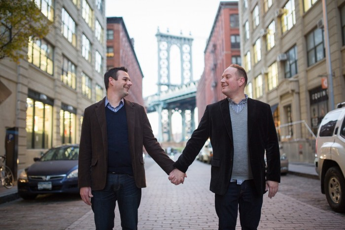Image 1 of Aaron and Brandon's Proposal in NYC