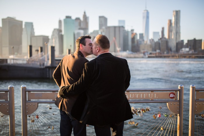 Image 11 of Aaron and Brandon's Proposal in NYC
