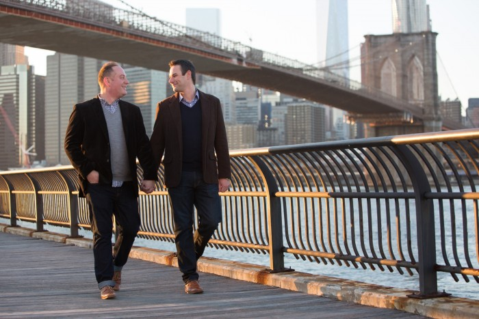 Image 3 of Aaron and Brandon's Proposal in NYC