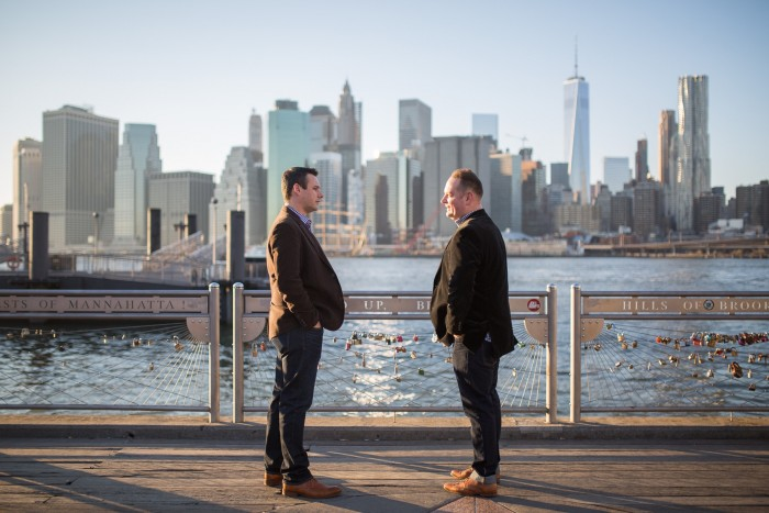 Image 4 of Aaron and Brandon's Proposal in NYC