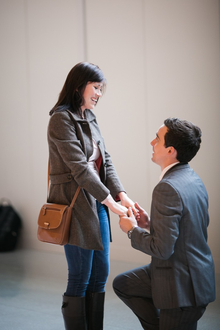 Image 3 of Nicole and James and their Super Sweet Airport Proposal