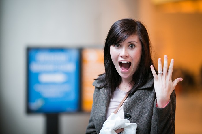 Image 10 of Nicole and James and their Super Sweet Airport Proposal