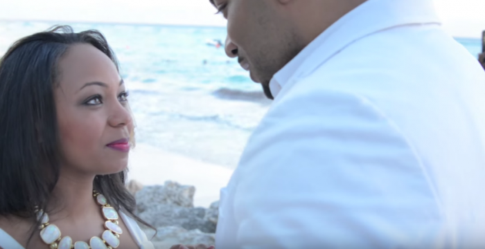 Image 4 of Takasha and Vincent's Amazing Proposal at the Sandals Resort in Barbados