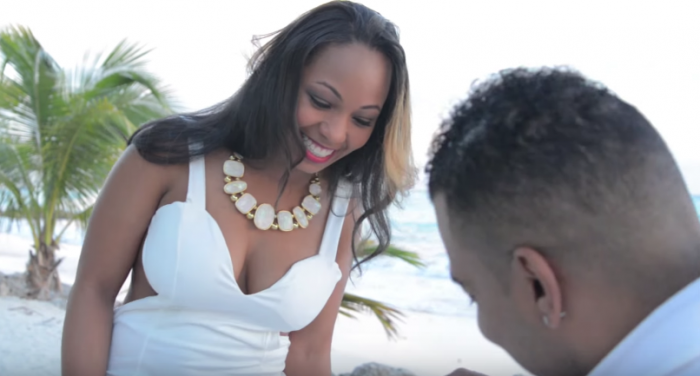 Image 5 of Takasha and Vincent's Amazing Proposal at the Sandals Resort in Barbados
