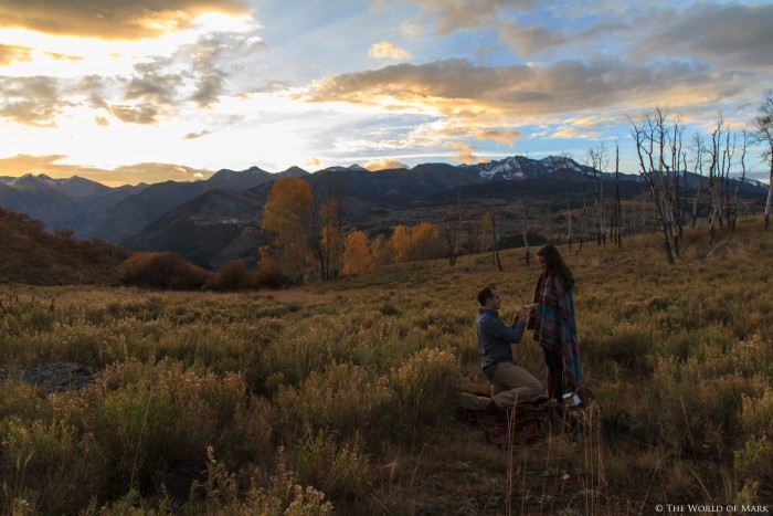 Marriage Proposal in Telluride