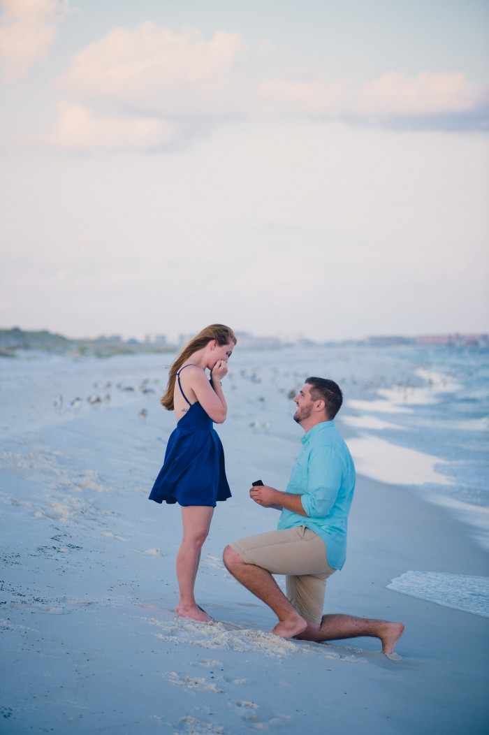 Marriage Proposal in Destin, Florida
