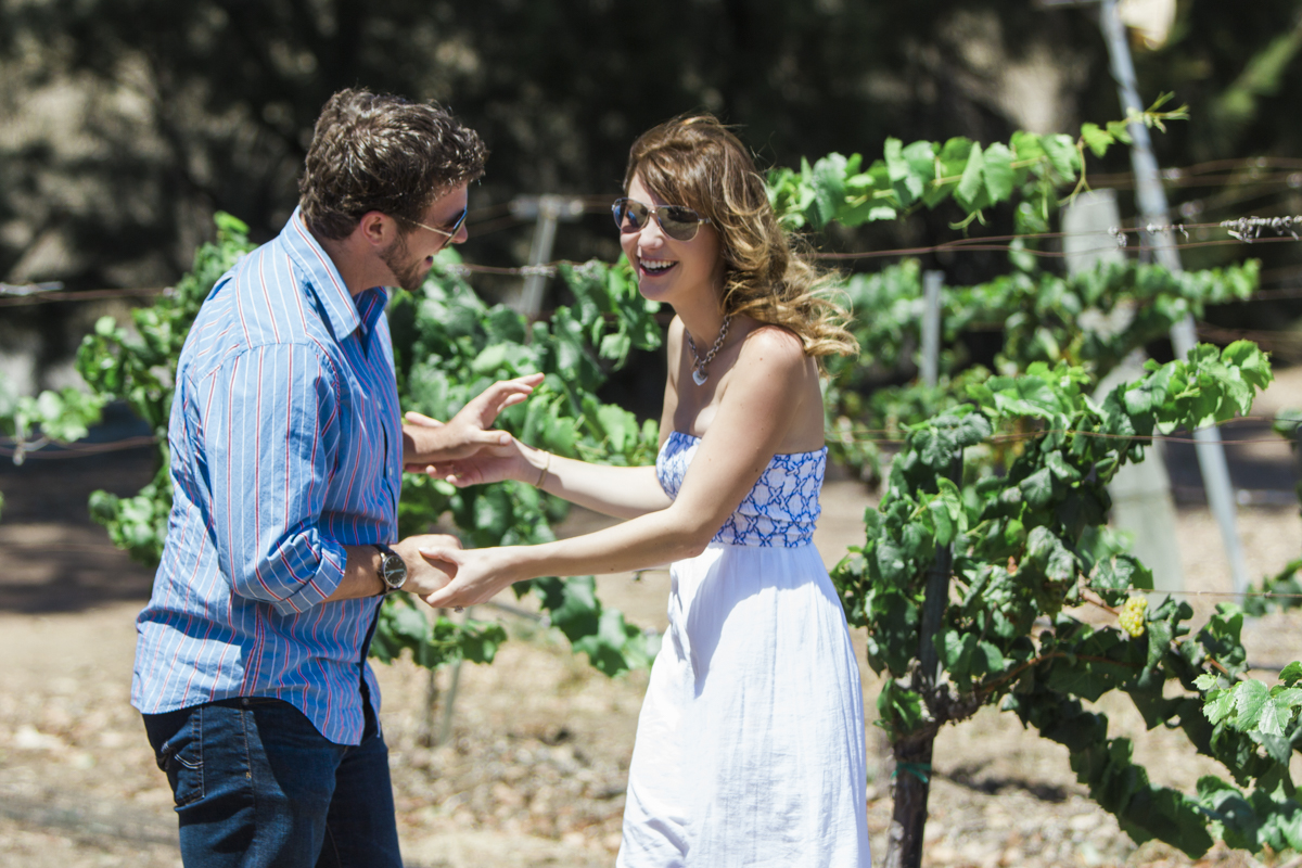 Image 4 of Ashley and Steven's Vineyard Proposal