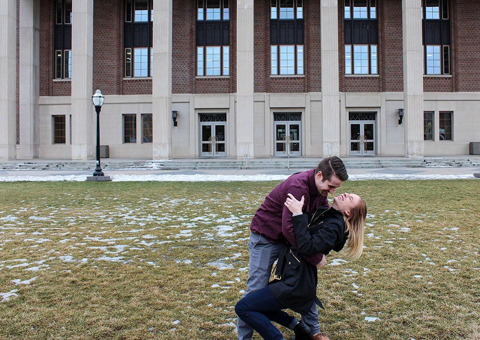 Image 1 of Lauren and Elliot