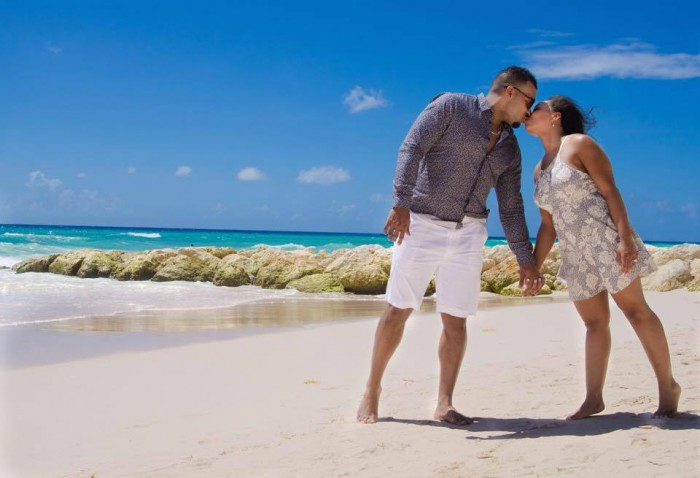 Image 1 of Takasha and Vincent's Amazing Proposal at the Sandals Resort in Barbados