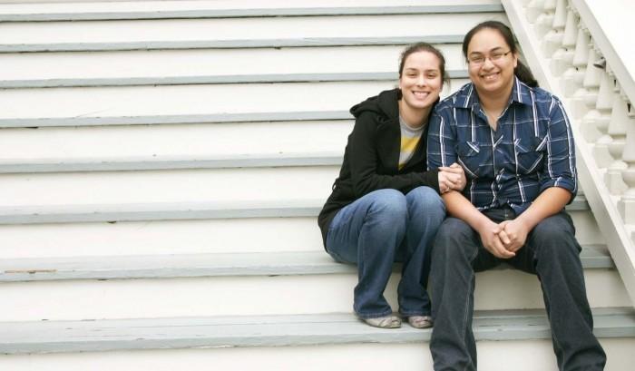 Image 1 of Christine and Megan