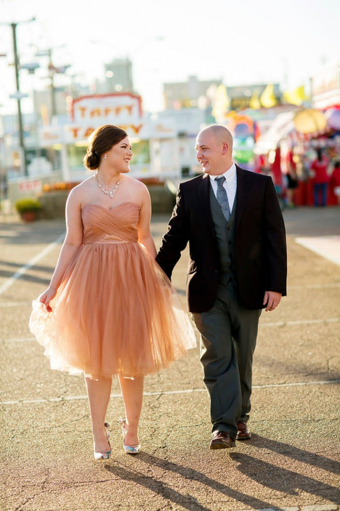Image 4 of Tips for Taking Non-Traditional Engagement Photos from Designer Donna Morgan
