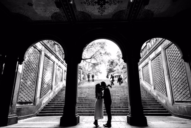 Proposal at Bethesda Fountain in Central Park