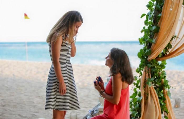 Image 1 of Sara and Danielle