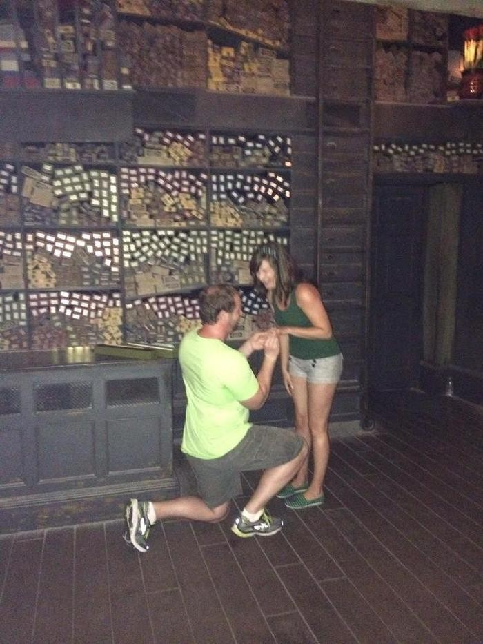 Image 5 of Billy and Jessica's Harry Potter Proposal