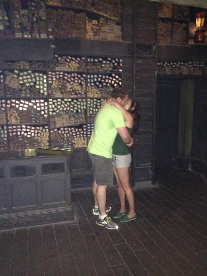 Image 6 of Billy and Jessica's Harry Potter Proposal