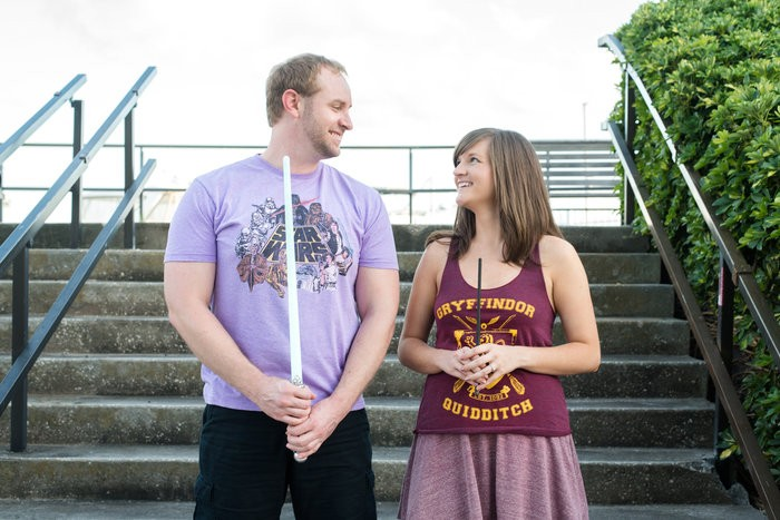 Image 3 of Billy and Jessica's Harry Potter Proposal
