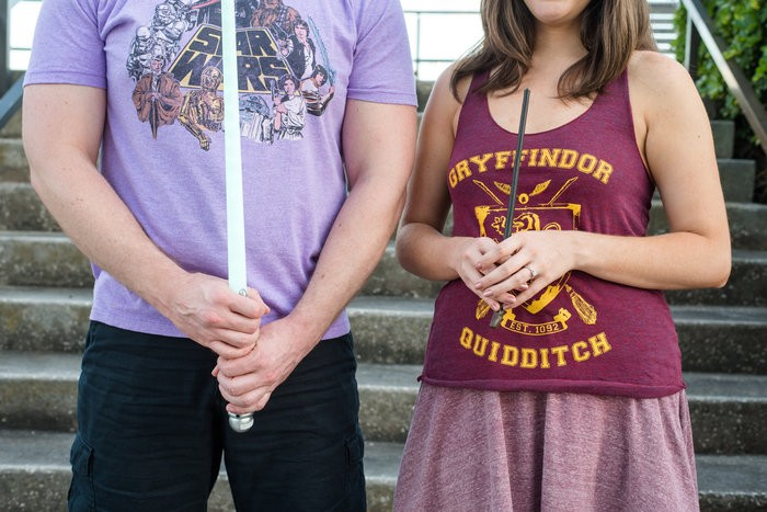 Image 4 of Billy and Jessica's Harry Potter Proposal