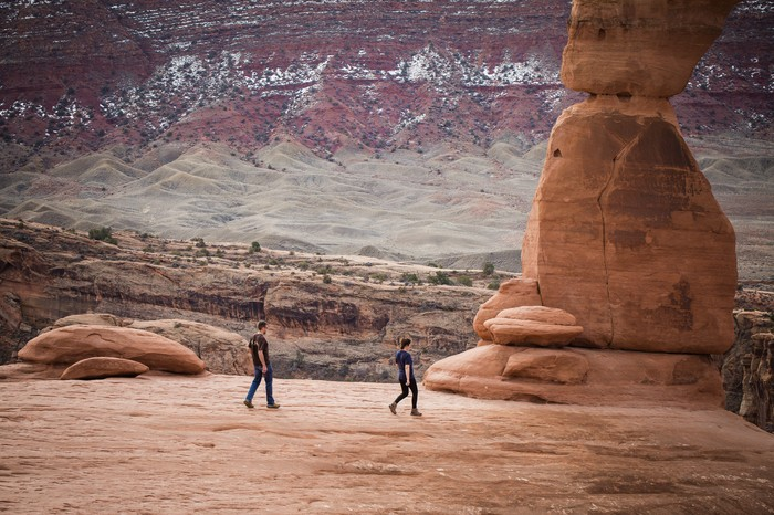 Image 3 of Brett and Kali's Proposal at Arches National Park