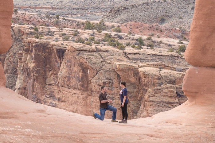 Image 5 of Brett and Kali's Proposal at Arches National Park