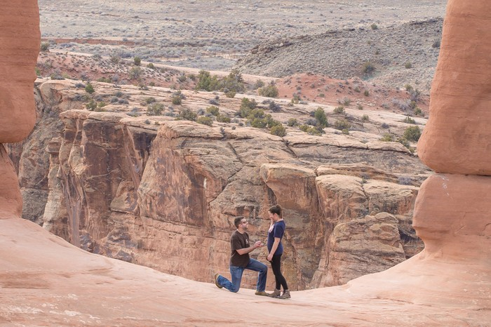 Image 6 of Brett and Kali's Proposal at Arches National Park