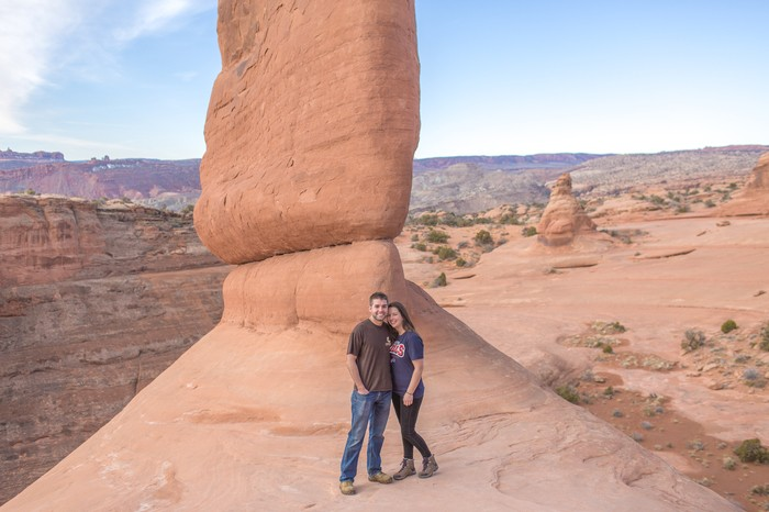 Image 1 of Brett and Kali's Proposal at Arches National Park