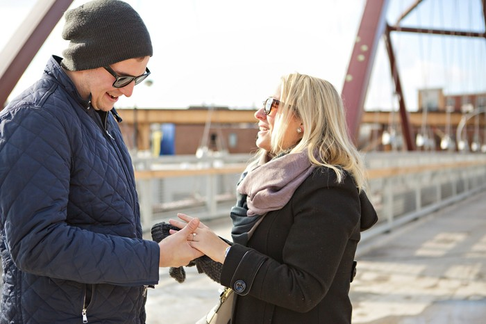Image 9 of Brian and Jackie's Chicago Proposal
