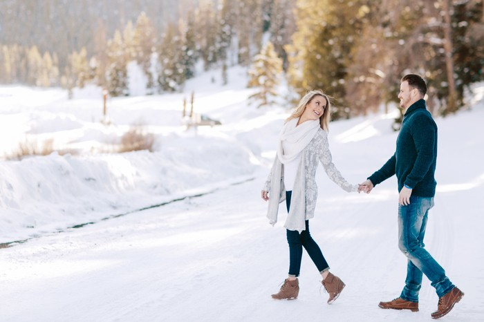 Image 1 of Carson and Brittany's Rocky Mountain Proposal