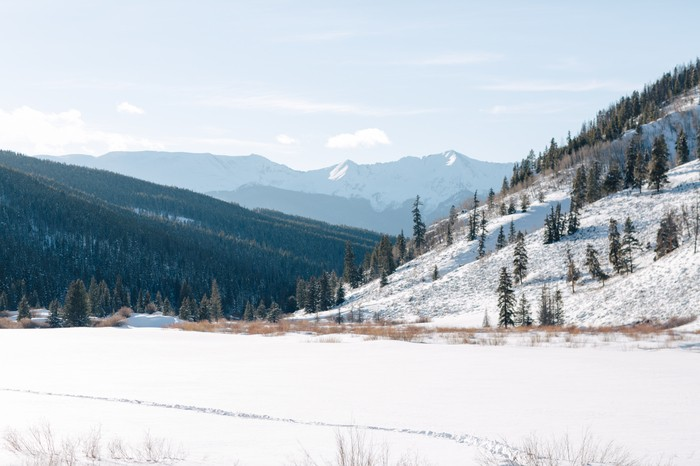 Image 2 of Carson and Brittany's Rocky Mountain Proposal