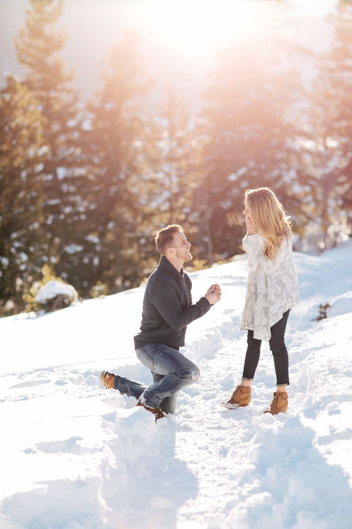 Image 5 of Carson and Brittany's Rocky Mountain Proposal
