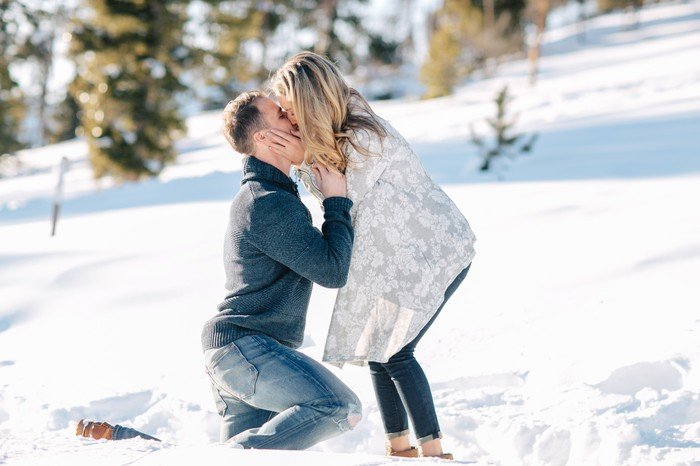 Image 8 of Carson and Brittany's Rocky Mountain Proposal