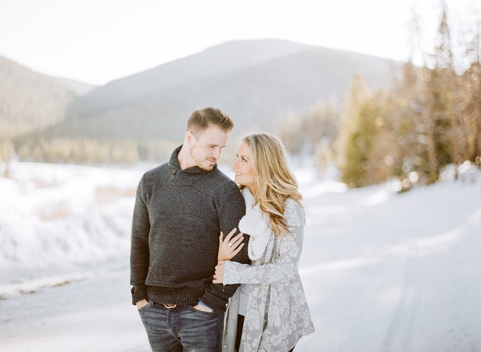 Image 3 of Carson and Brittany's Rocky Mountain Proposal