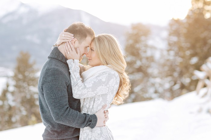 Image 4 of Carson and Brittany's Rocky Mountain Proposal