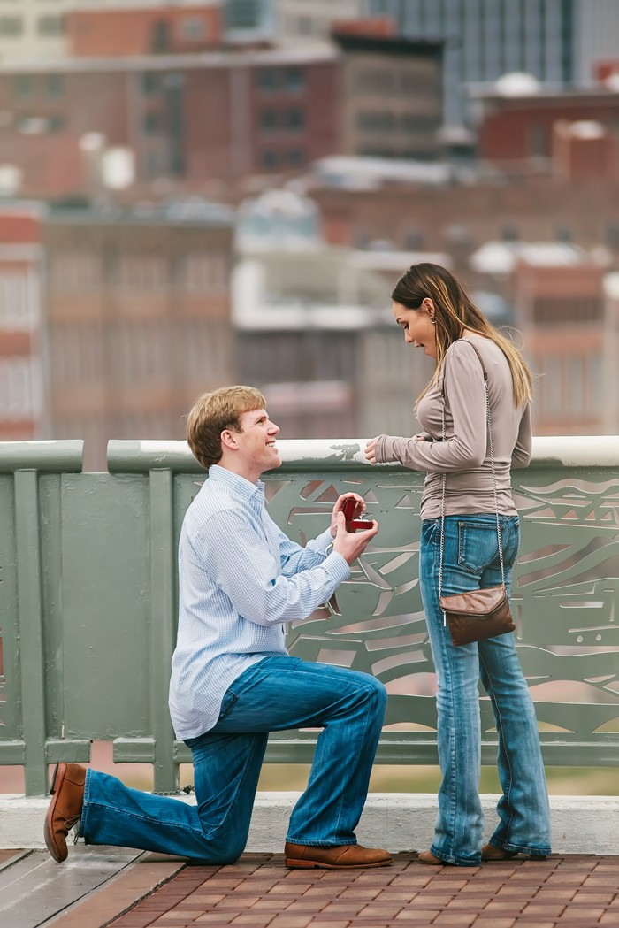Image 3 of Christian and Andrew's Sentimental Proposal in Nashville