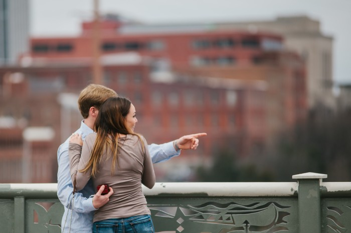 Image 6 of Christian and Andrew's Sentimental Proposal in Nashville