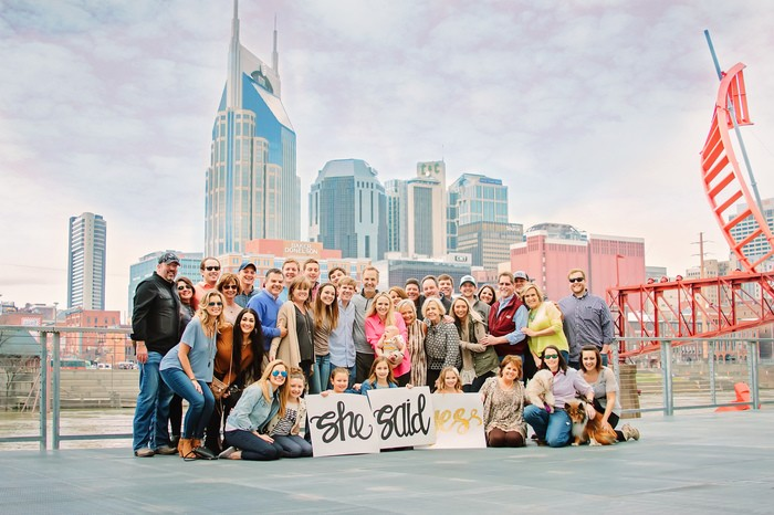 Image 8 of Christian and Andrew's Sentimental Proposal in Nashville